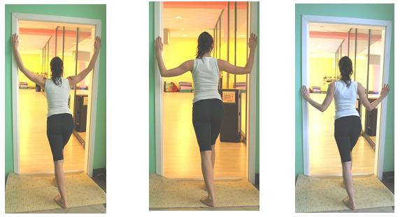 protažení svalů